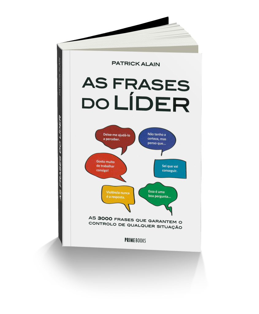 Patrick Alain, The Leader Phrase Book in Portuguese version